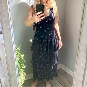 Rachel Rachel Roy Ruffle Dress June Navy Combo